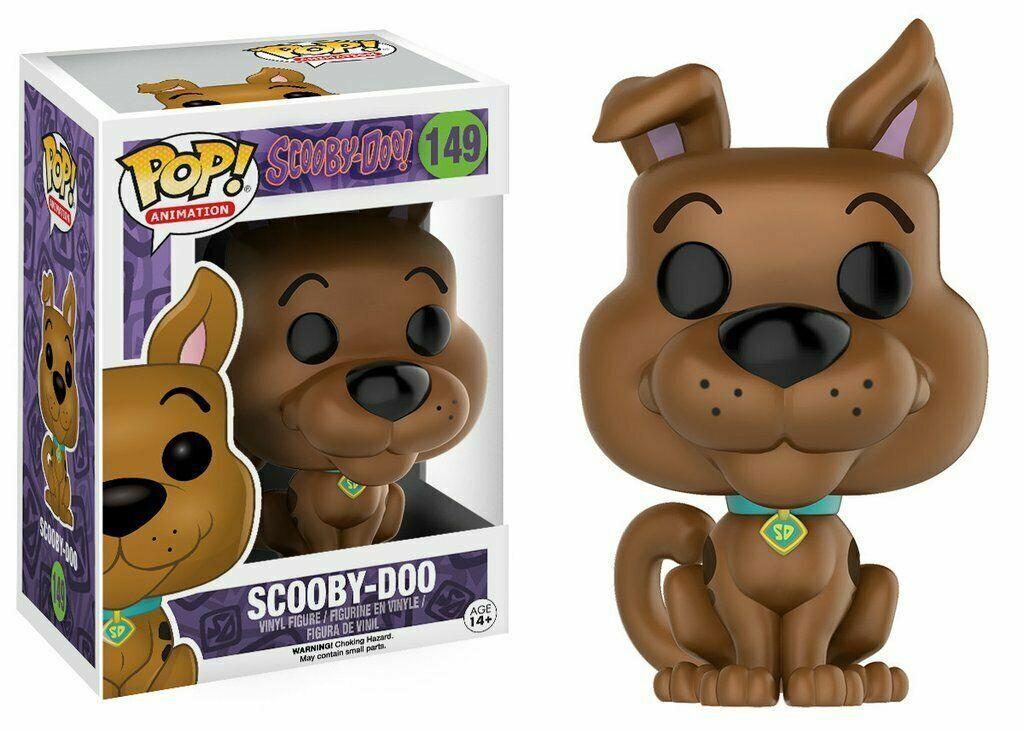 Scooby-Doo  Pop  Funko Scooby-Doo Vinyl Figura Animation n° 149
