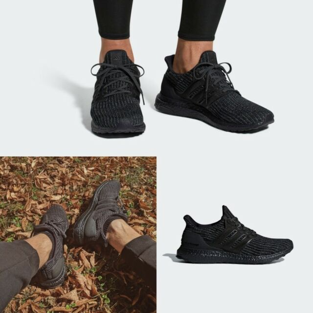 8d116a36a Adidas Authentic Ultra Boost Unisex Running Shoes Black BB6171 SZ 4-11🔥