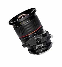 Rokinon 24mm F3.5 Wide Angle Tilt Shift Lens for Sony Alpha A Mount DSLR