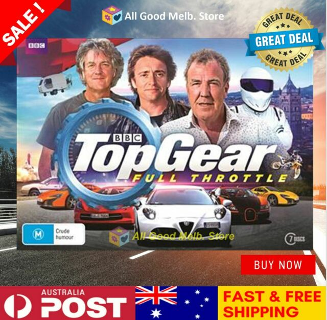 BBC Top Gear Full Throttle DVD Box Set Collection | 7 Discs | New + FREE POSTAGE