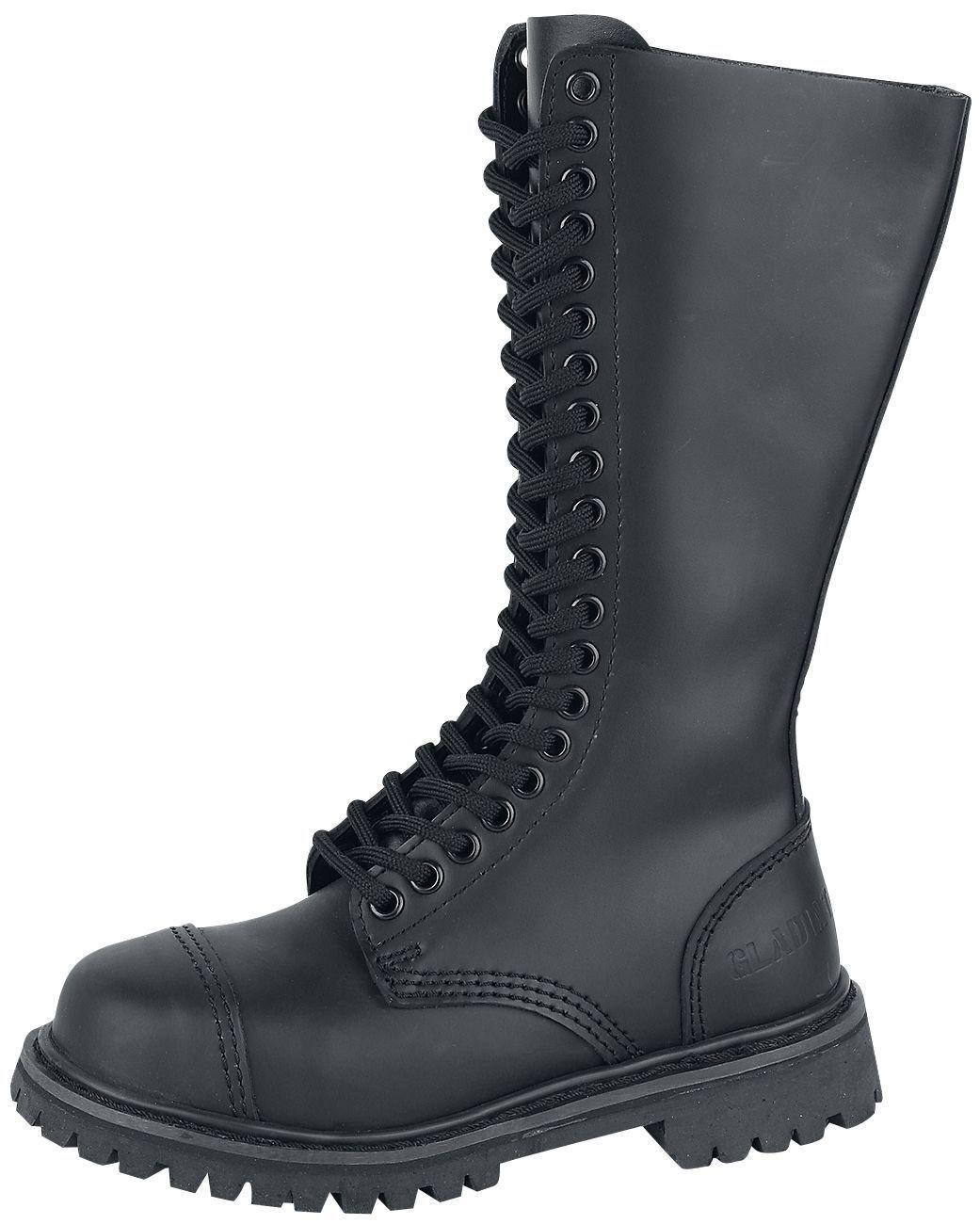 Brandit Militärschuhe Stiefel Stiefel Mann Frau Militär Phantom boots 20 eyelet