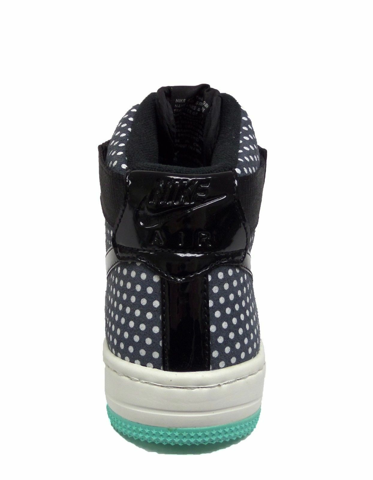 Nike WOMEN'S AIR FORCE FORCE FORCE 1 Ultra Force Mid Black Sail SIZE 6 BRAND NEW 1604bf