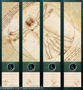 File Art 4x Ordner-Etiketten RAINBOW BOOKS Ordner RÜCKENSCHILDER Sticker 448