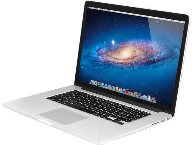 """Apple Notebook ME293LL/A 15.4"""" Intel Core i7 2.00GHz 8GB Memory"""