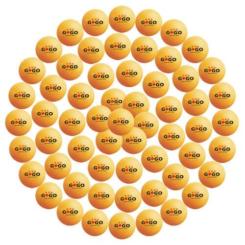 60x Lot GOGO 3 Star Professional Table Tennis Ping Pong Ball 40mm Pack Bulk