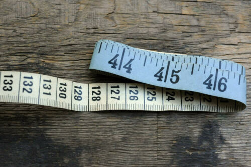 "1 New 60/"" 150cm Soft Fabric Cloth Tape Measure Ruler Dual Sided SAE Metric Diet"