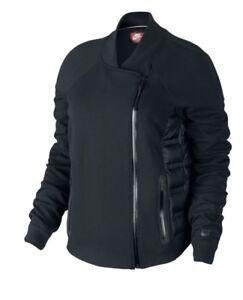 Détails sur Nike Tech fleece aeroloft moto 800 Veste pour femme Noir Taille M RRP £ 150 afficher le titre d'origine