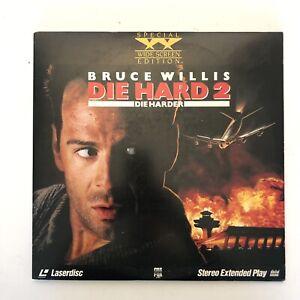 Die Hard 2 Die Harder 2 Laserdiscs 1990 Special Widescreen Edition Ok 86162185069 Ebay