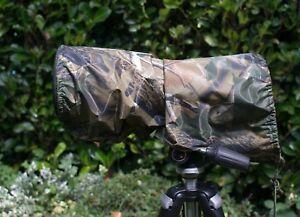 LEAF-DESIGN-Waterproof-camera-and-lens-rain-cover-Nikon-200-500mm