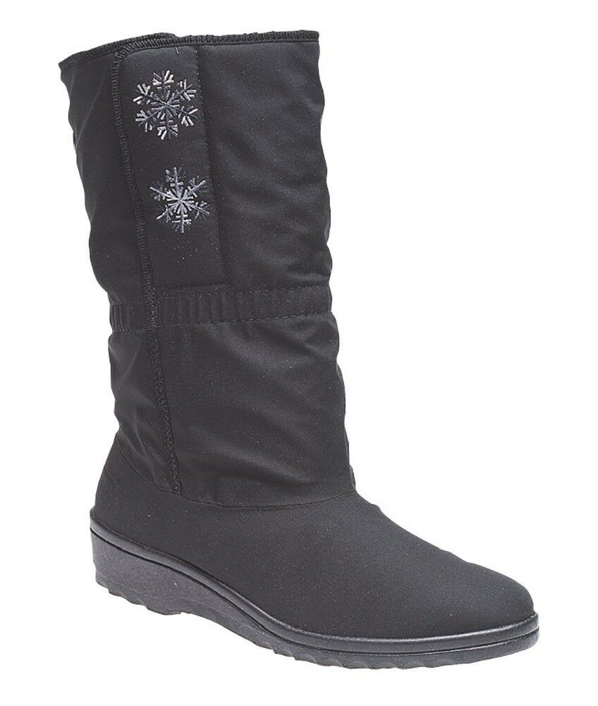 Blizzard LB852 Calf Stiefel 3/4 Mid Side Touch Fastening Wide Calf LB852 Fitting Winter Stiefel 6c10d4