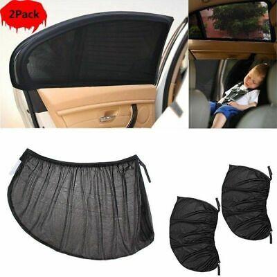 2x auto sonnenschutz netz sonnenrollo seitenfenster sonnenblende heckscheibe xxl ebay. Black Bedroom Furniture Sets. Home Design Ideas