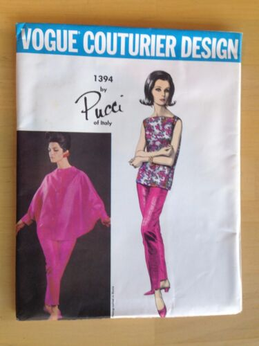 Original Vintage Vogue 1960's Sewing Pattern Uncut Choose Your Style Large