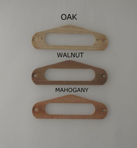 TELECASTER NECK PICKUP SURROUND WALNUT,MAHOGANY,OAK