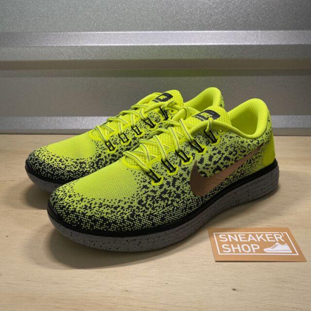 Nike Free RN Distance Shield Black Grey