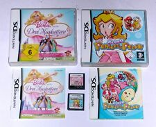 Spiele: BARBIE MUSKETIERE + SUPER PRINCESS PEACH Nintendo DS + Lite + 3DS + XL