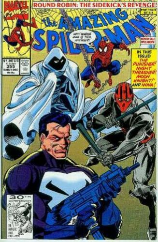 Mark Bagley USA,1991 Amazing Spiderman # 355
