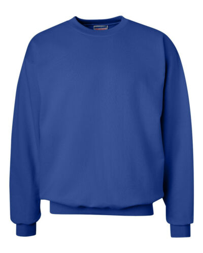 Hanes Mens PrintProXP Ultimate Cotton Crewneck Sweatshirt S-3XL  F260