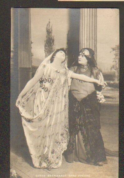 ARTISTE Theatre / Mlle SARAH BERNHARDT sur Scéne Scéne sur dans