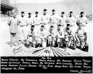 1945-NEGRO-LEAGUE-AMERICAN-ALL-STARS-CARACAS-VENEZUELA-TEAM-8X10-PHOTO