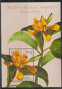 273M-MALAYSIA-2001-SCENTED-FLOWERS-MS-FRESH-MNH