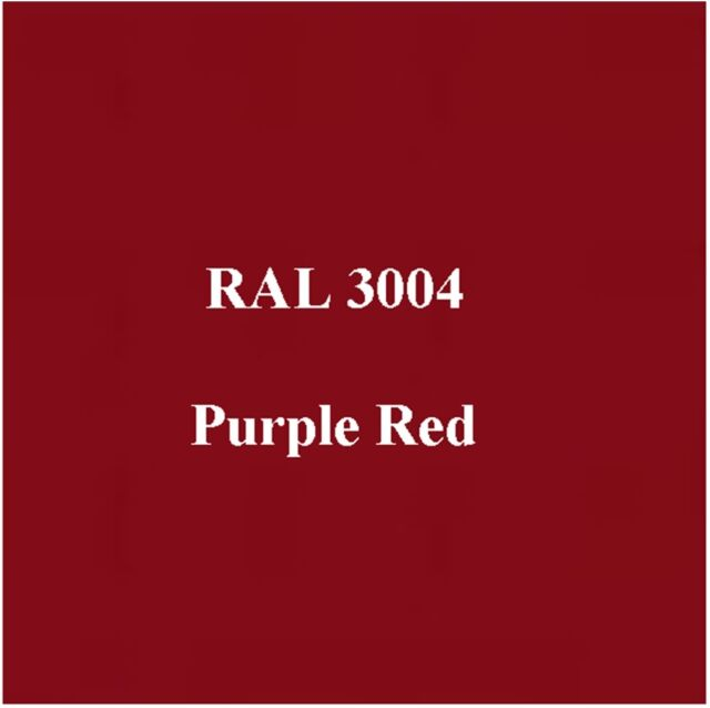 Ral 3004 High Quality Cellulose Paint Purple Red 2 5l Free Strainer Tack Rag