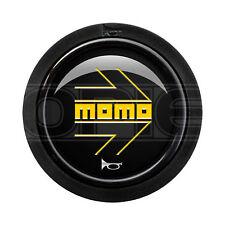 Single MOMO Heritage Standard 2 Contact Black /& Yellow Horn Push Button