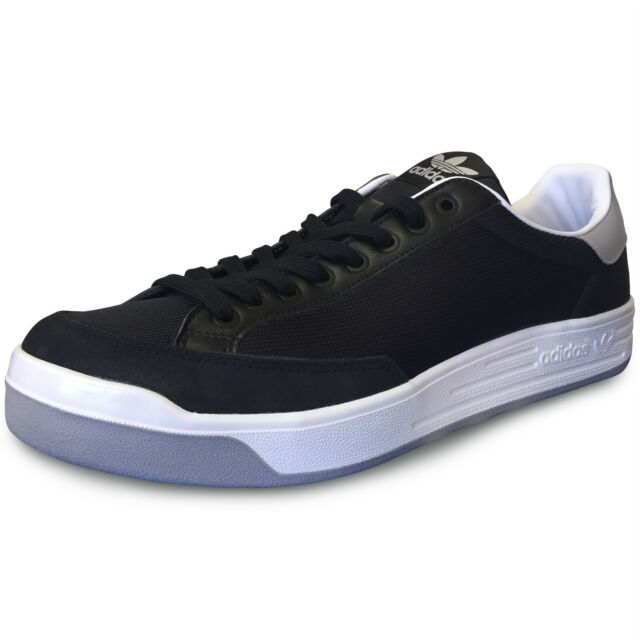 wholesale dealer 684f3 f23db Adidas Rod Laver Super Tennis Shoes NIB Men s, Black White Grey - Multiple