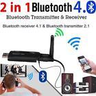 Bluetooth Wireless Music Stereo Audio Transmitter Transmitter 3.5mm A2DP Adapter