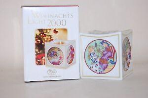 Weihnachtslicht 2000 la bella durmiente Hutschenreuther  </span>