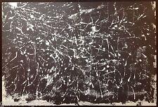 François FIEDLER Belle Lithographie Originale I de 1959 Abstrait Lyrique 57ans
