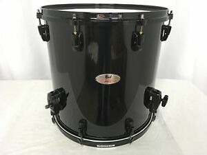 Pearl-Reference-16-034-Diameter-X-16-034-Deep-Floor-Tom-Piano-Black-Finish-103-New