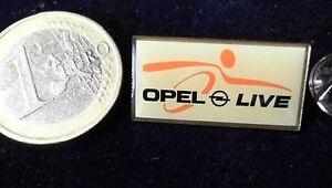 Dynamisch Opel Pin Badge Opel Live Werkstour Weiss Quadratisch SchnäPpchenverkauf Zum Jahresende Sammeln & Seltenes
