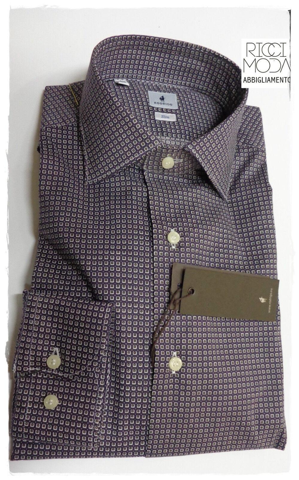 Outlet -50% Men's shirts shirt chemise shirt rubashka Rodrigo 3300540112