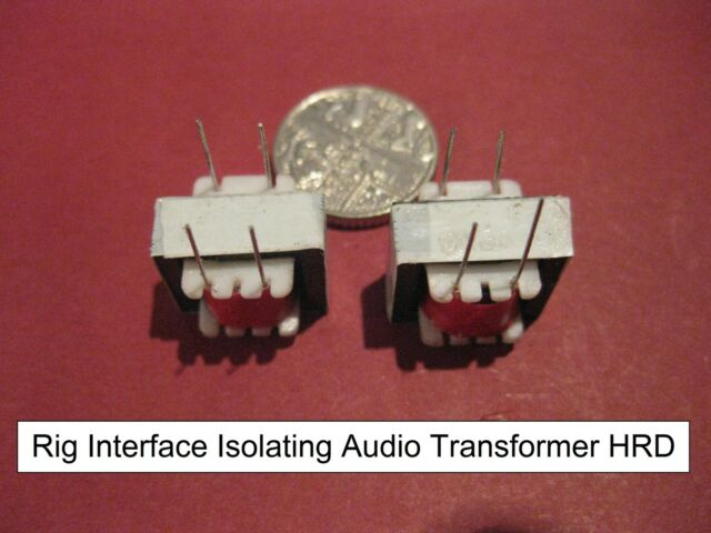 C4 Pair Audio Isolation Transformatoren PC Interface Digimode psk31 RTTY Datenmodus