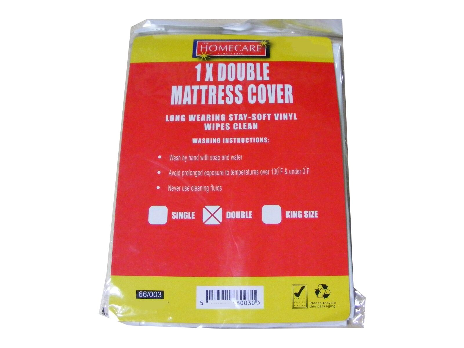 10 x DOUBLE BED WETTING VINYL PLASTIC FITTED MATTRESS COVER SHEET PROTECTOR