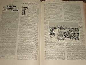 1897-ARTICLE-ROYAL-MARINE-BARRACKS-PLYMOUTH-TOUR
