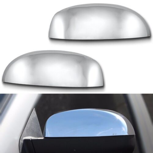 Suburban Chrome Direct Replacement Top Mirror Cover For 2007-2014 Chevy Tahoe