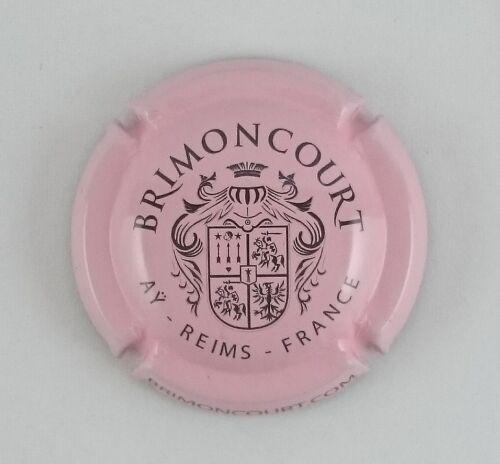 capsule champagne BRIMONCOURT rose et noir