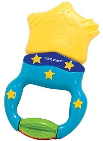 Silicone Bendable Palm Shape Teether Baby Training Toy Infant Toddler N7