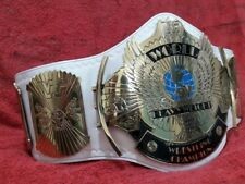 WWF WINGED EAGLE ADULT WRESTLING  CHAMPIONSHIP REPLICA BELT IN 4MM BRASS PLATES!