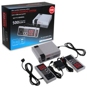 Mini-Classic-Retro-TV-Game-Dual-Console-Built-in-500-Games-Entertainment
