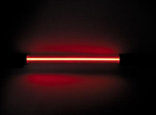 NEONSTAB alfatec NL30R NEON-LIGHT NEON TUBE ROT 29,5cm gesamt 45cm 12V EIN AUS