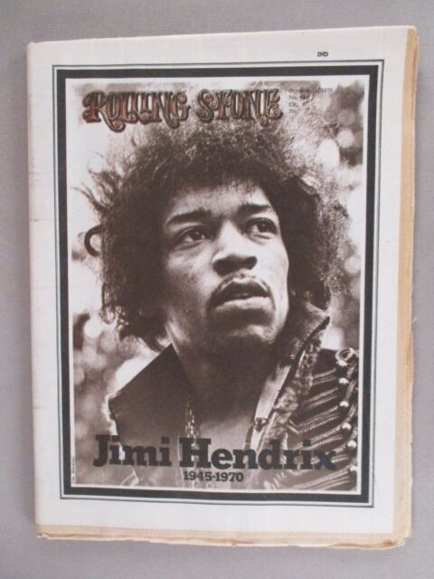 Rolling Stone #68 - October 15, 1970 ~~ death of Jimi Hendrix ~~ nice condition