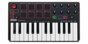 Akai-MPK-Mini-Mk2-Mkii-Compact-Keyboard-And-Pad-Controller-Authentic
