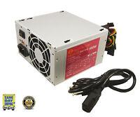 A-power Ags450w 450 Watt Power Supply 20+4-pin 2 80mm Fans Atx W/ Sata 450w 460