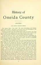 1912 ONEIDA County New York NY, History and Genealogy Ancestry DVD CD B25