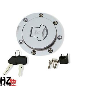 Fuel Gas Tank Cap Cover Lock Key Set Fit Honda CBF500 2004-2005 CBF600 2004-2009