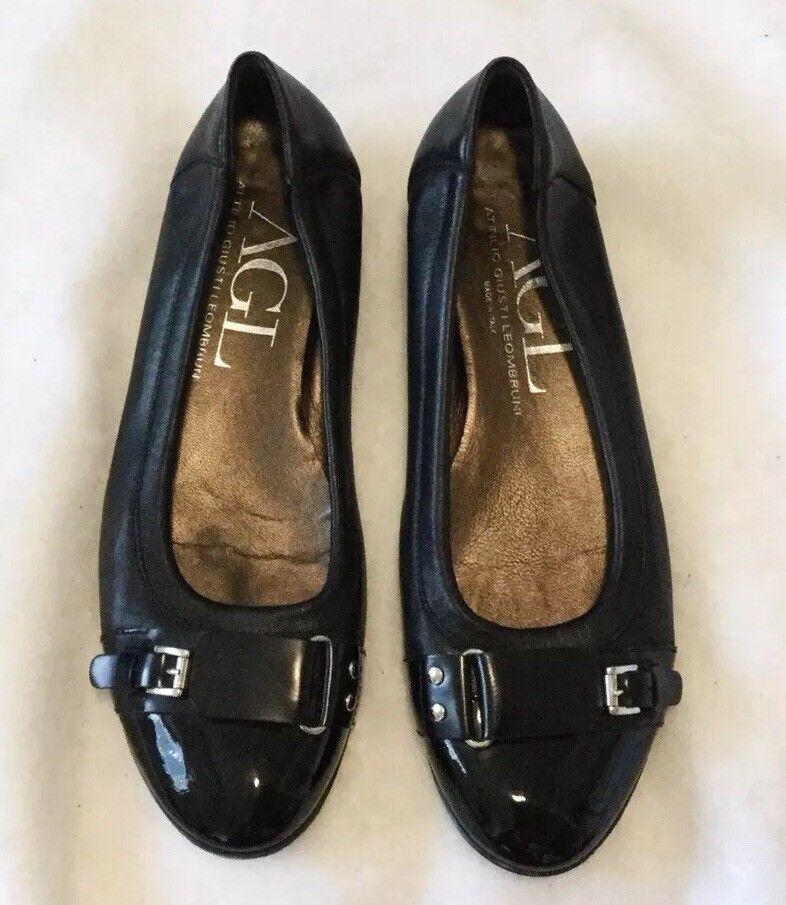 classico senza tempo AGL Attilio Giusti Leombruni Leombruni Leombruni Flats EU 40 US 9.5 donna's nero Leather Flats  ordina ora i prezzi più bassi