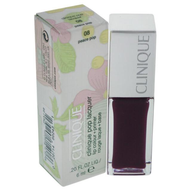 Clinique Pop Lacquer Lip Colour + Primer - # 08 Peace Pop 0.2 oz 5.90 ml Make Up