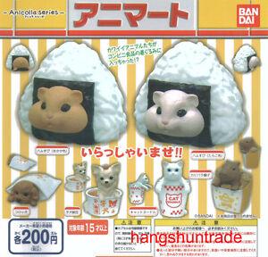 Anicolla Animal Mart Hamster Dog Croquette Capybara Puppy Natto Cat 5 Pcs Set